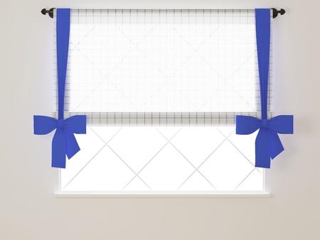 Window in a bright white room. Stock Photo - 14017041