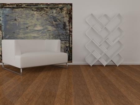 Design interior of elegance modern living room, minimalism Stock Photo - 15070908
