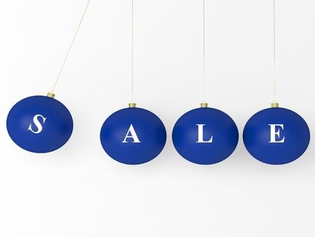 Venda bolas azuis de Natal. Xmas Modern bugiganga decora Imagens