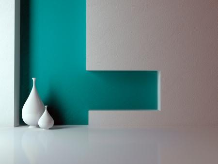 Detail shot of modern living room. Interior design.