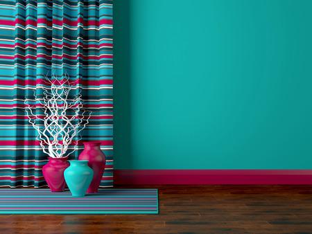 Detail shot of modern living room wall. Luxury interior design. Reklamní fotografie