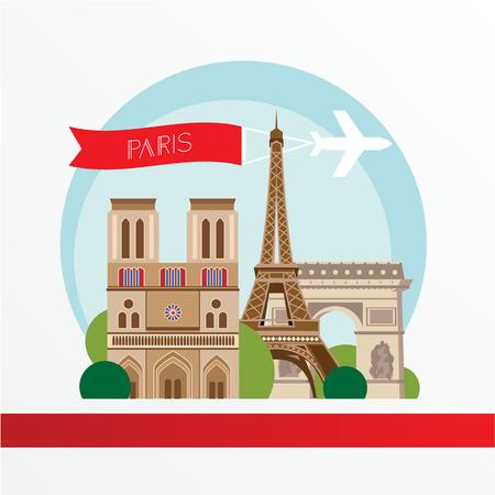 monumental: Eiffel Tower - The symbol of France, Paris.