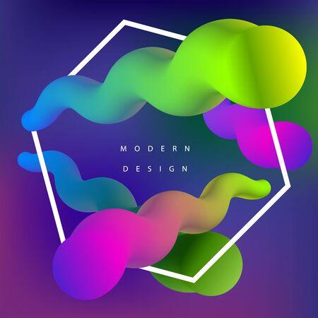 Moden colorfull background. Vector illustration Ilustração