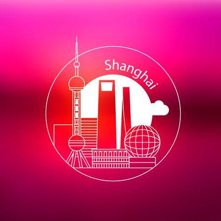 Shanghai China Concept