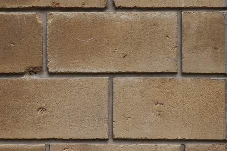 Masonry. The texture of the block. Stock Photo