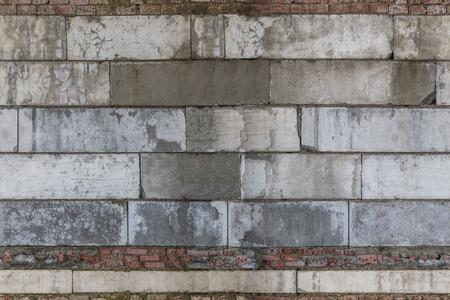 Masonry. The texture of the block. 版權商用圖片