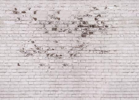 Heller Ziegelstein. Die Beschaffenheit des Mauerwerks. Standard-Bild