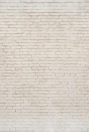 Heller Ziegelstein. Die Beschaffenheit des Mauerwerks.