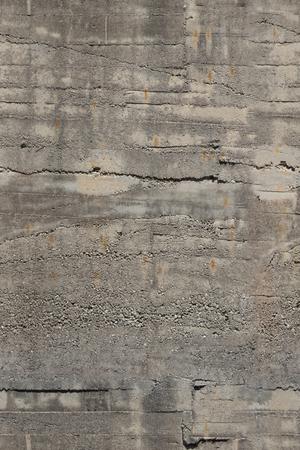 Betonnen muur. Textuur.