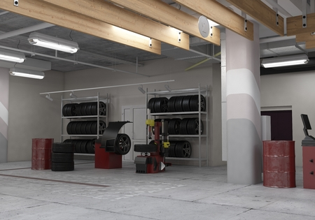 Automotive workshop
