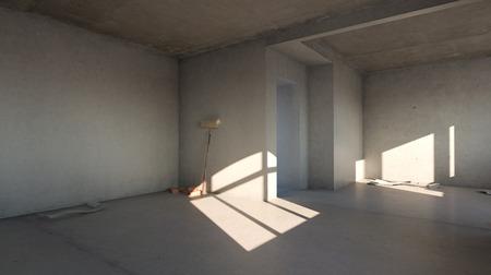 home renovation - empty room before renovation