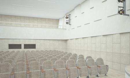 Concert hall.