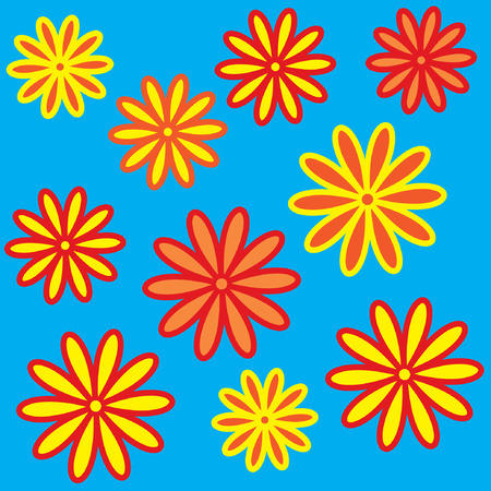 flowerses: The Bright varicoloured flowerses. Much beautiful daisywheels.
