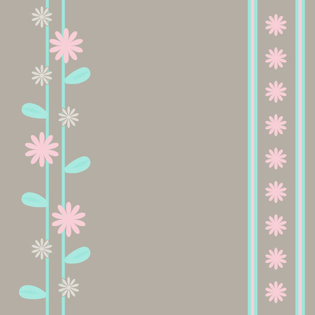 Abstract background. Il background flowerses e bande.