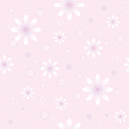 gentile: The Background seamless floral.The Material in gentile flower. Illustration