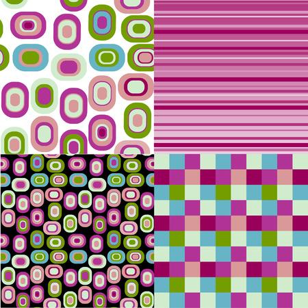 figuras abstractas: El fondo transparente. Las figuras abstractas de ejemplo.  Vectores