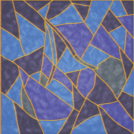 stained glass: The Abstract background. The Varicoloured squares.   Illustration