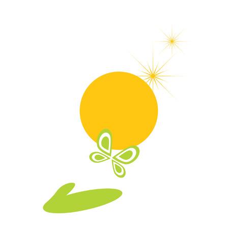 freedom logo: Libertad de logotipo. Es aislada sobre fondo blanco. Vectores