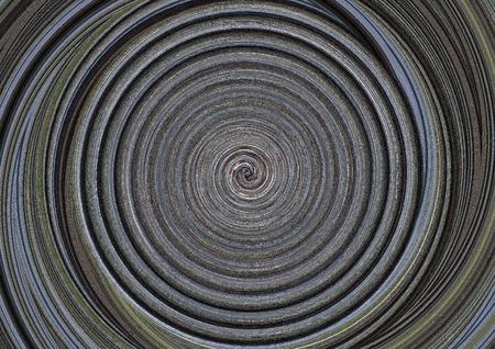 asymmetry: Abstract circles art  Stock Photo