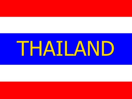 drapeau thailande: Thailand flag background