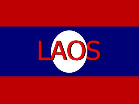 democratic: Laos Peoples Democratic Republic flag background
