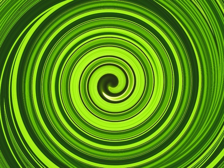 green swirl: Abstract circles art background. swirl pattern  Green