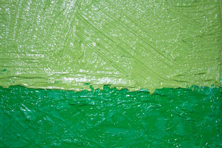 A close-up shot of a textured oil paint on canvas. The basis for the design. Stock Photo