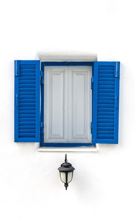 Greek Style windows photo