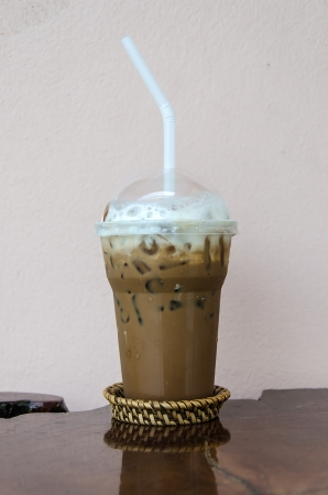 Ice coffee Mocca photo