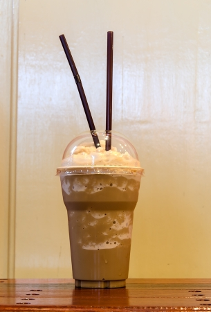 Cappuccino smoothie photo