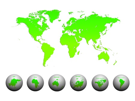 World Map, World background Stock Photo - 15866134