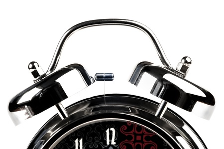 12 o'clock: Hours - it is large, separately on a white background