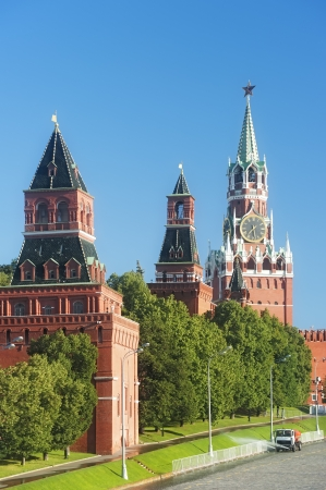 Tower of Moscow Kremlin Stock Photo - 14878802