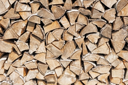 woodpile: Stack of firewood.