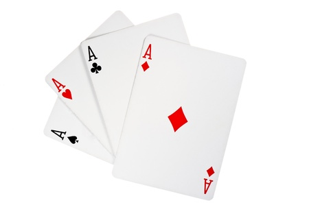4 of a kind: Four aces in poker - Kare