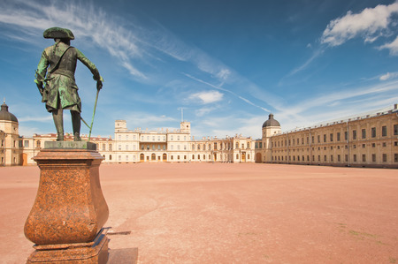 Gatchina. Famous palace and monument to suburban St. Petreburge photo