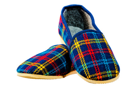 childrens home warm slippers for winter photo