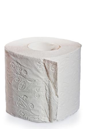 multilayer: multilayer soft toilet paper close up