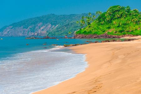 paradise place: Goa beach. Stunning views of paradise place Stock Photo