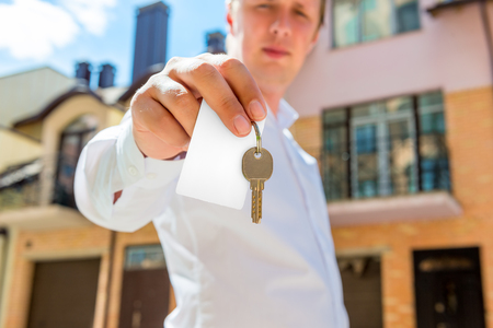 sales agent: the key to a new apartment in the hands of sales agent