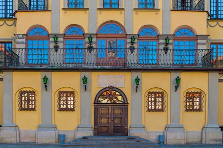ordinate: The palace and park ensemble of the XVI-XIX TTFS. in Nesvizh Nesvizh belongs to the first ordinate Nicholas Christopher Radziwill Orphan (1549 - 1616).
