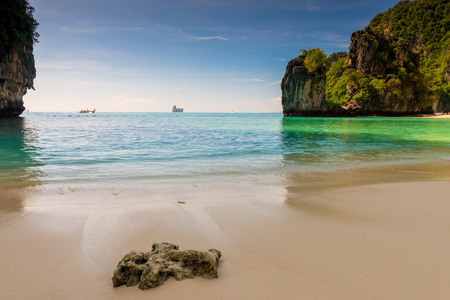Andaman Sea, beautiful bay and rocks, island of Hong - Thailand