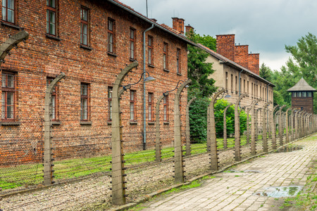 The death camp of Auschwitz (Auschwitz) 1940-1945. About 1.4 million people, of whom about 1.1 million were Jews, were murdered in Auschwitz. After the war Auschwitz, the death camp, was included in t 報道画像