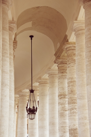 Doric columns of St  Peter photo