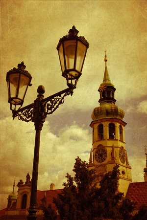 pilgrim journey: Loreta, a place of pilgrimage in Prague, Czech Republic