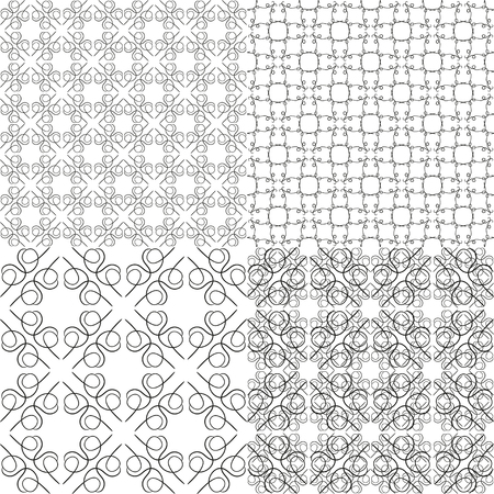 Vintage pattern for wallpapers