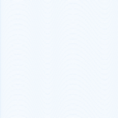 Blue lines on a white background.  Guilloche. The protective layer for banknotes, diplomas and certificates. Waves.