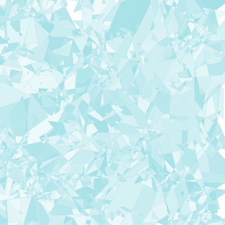 Glass shard of ice abstract background.