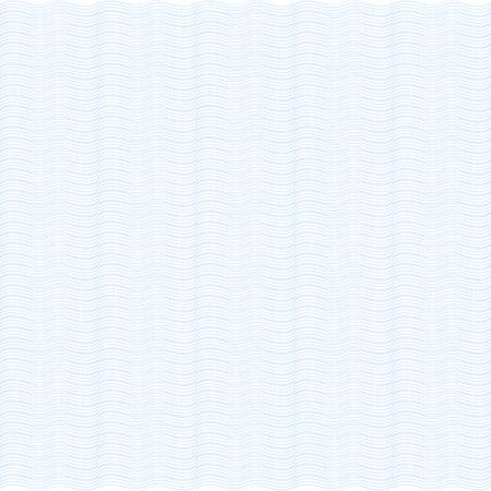Fond bleu. Vagues. Guilloché. La couche protectrice pour les billets de banque, les diplômes et les certificats.