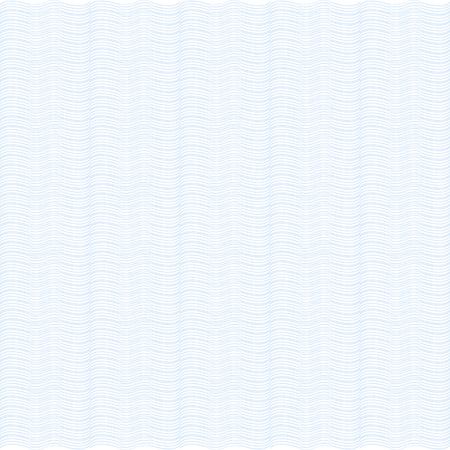 Blue background. Waves. Guilloche. The protective layer for banknotes, diplomas and certificates.